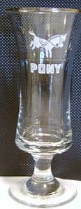 Pony Cocktail Glass