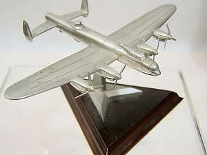 Royal Hampshire Polished Pewter Edition - Avro Lancaster - original box - SOLD