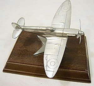Royal Hampshire Polished Pewter Edition - Battle of Britain Spitfire - SOLD