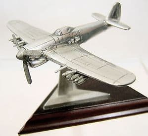 Royal Hampshire Polished Pewter Edition - Hawker Typhoon - original box - SOLD