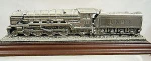 Royal Hampshire Solid Pewter Locomotive 'The Blue Peter' - unboxed - SOLD