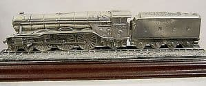 Royal Hampshire Solid Pewter Locomotive 'The Flying Scotsman' -  original box - SOLD