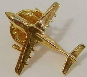 Russian Button Badge - Ilyushin IL-76 - Golden Lapel Badge