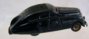 Schuco Tinplate Clockwork Kommando 2000- 1930s - working but no key - SOLD