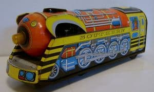 Tinplate Japanese Locomotive 'Southern' - B/O - 1960s
