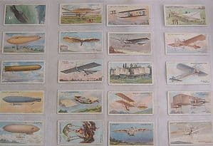 W D & H O Wills Complete Set - Aviation  - 50 cards
