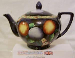 W & R Carlton Ware 'Orange' Teapot