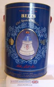 Wade Bell's Whisky - 90th Birthday Commem Queen Mother 4 Aug 1990 - Unopened