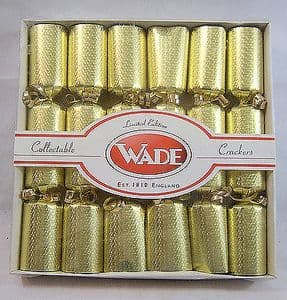 Wade Novelty Whimsies Nursery Christmas Crackers 2001 - Limited Edition