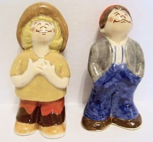 Wade - The Bisto Kids Cruet Set - Rare Trail Colourway