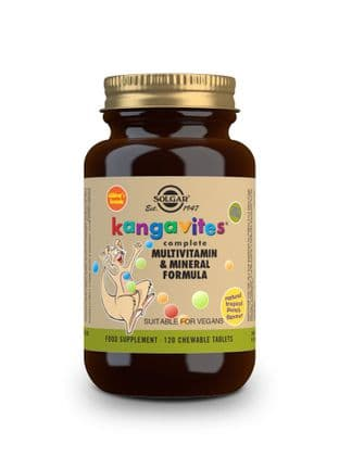 Kangavites ® Complete Multivitamin & Mineral Formula for Children (Tropical Punch) Chewable Tablets