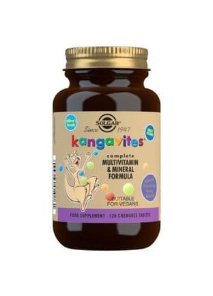 Kangavites Multivitamin & Mineral Chewable Tablets-Bouncin' Berry Flavour