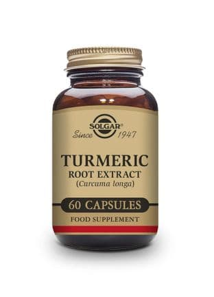 Turmeric Root Extract Vegetable Capsules