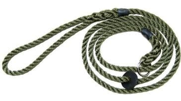 8mm Deluxe Dog Slip Lead By Bisley