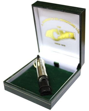 Acme Sterling Silver Sleeve With Dog Training Whistle In Presentation Case