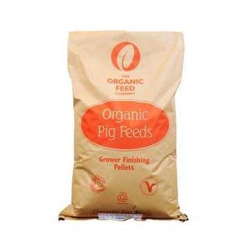 Allen & Page Organic Feed Company Pig Grower Finisher Pellets Pig Feed 20kg