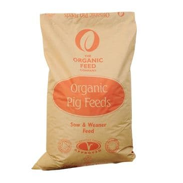 Allen & Page Organic Feed Company Sow & Weaner Pig Feed 20kg