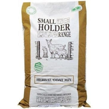 Allen & Page Small Holder Range Herbal Goat Mix Feed 20kg