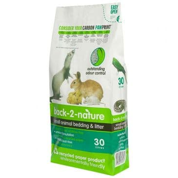 Back 2 Nature Small Animal Bedding & Litter 30L