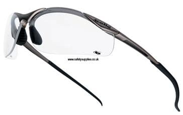 Bolle Contour Safety Glasses-Clear