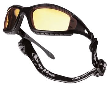 Bolle tracker Safety Glasses-Yellow