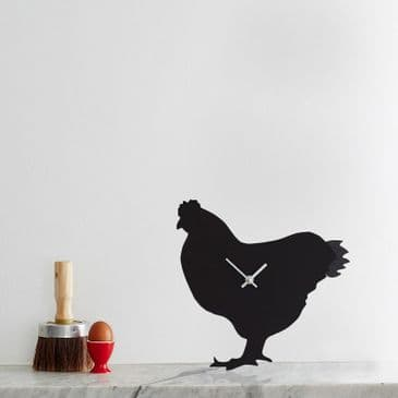 CHICKEN CLOCK  WITH WAGGING TAIL