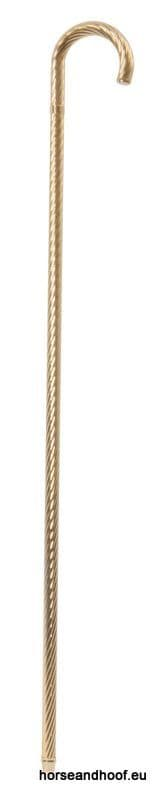 Classic Canes Gold Twisted Formal Crook