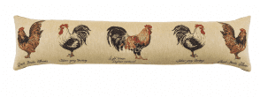 Cockerels - Fine Tapestry Draught Excluder