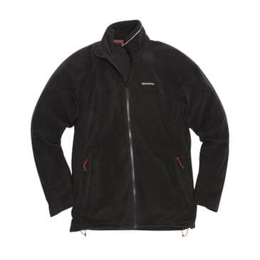 Craghopper Black Corey III Half Zip Fleece