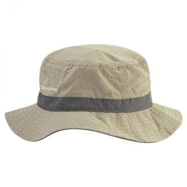 Craghoppers Black Pepper/Pebble Nosilife Sun Hat