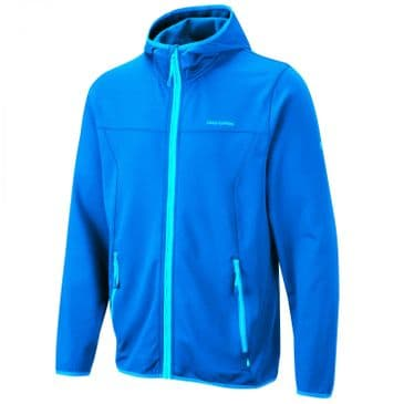 Craghoppers Strong Blue Ionic Hooded Jacket