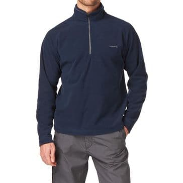 Craghoppers Windsor Blue Corey III Half Zip Fleece