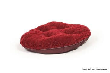 Danish Design Bobble Quilted Mattress Dog Bed - Damson