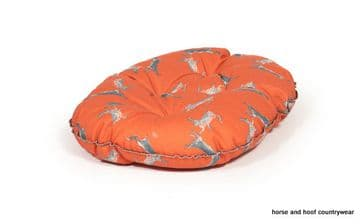 Danish Design Quilted Mattress Dog Bed - Boxing Hares