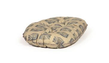Danish Design Quilted Mattress Dog Bed - Owl