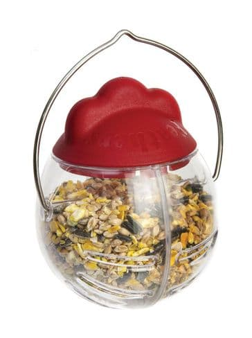 Feathers & Beaky Peck-It Treat Dispenser For Chickens
