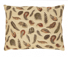 Feathers  - Fine Tapestry Cushion.