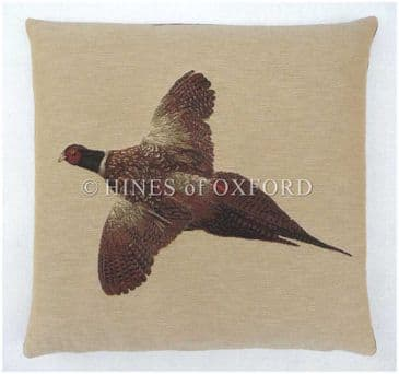 Flying Pheasant - Fine Tapestry Cushion