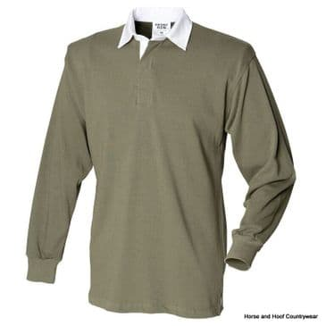 Front Row & Co Long Sleeve Original Rugby Shirt