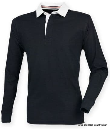 Front Row & Co Premium Superfit Rugby Shirt