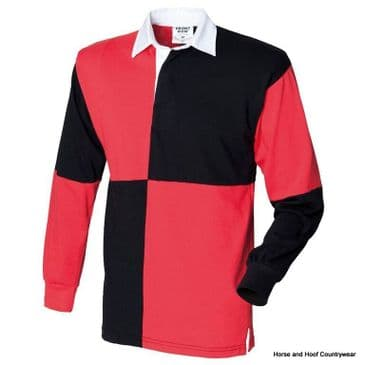Front Row & Co Quartered Rugby Shirt