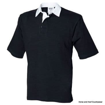 Front Row & Co Short Sleeve Rugby Shirt