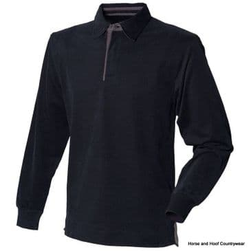 Front Row & Co Super soft Long Sleeve Rugby Shirt