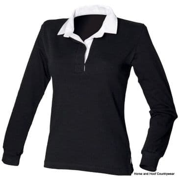Front Row & Co Women's Long Sleeve Original Rugby Shirt