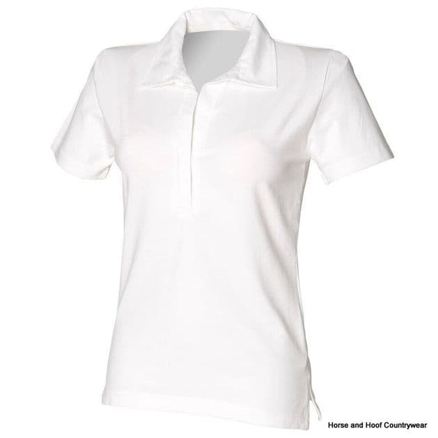Front Row & Co Women's Short Sleeve Stretch Rugby Shirt