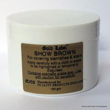 Gold Label Show Brown