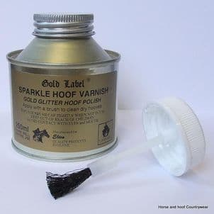 Gold Label Sparkle Hoof Varnish