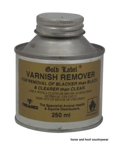Gold Label Varnish Remover