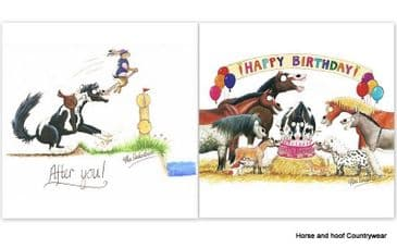 Greetings Cards by Alex (x6)