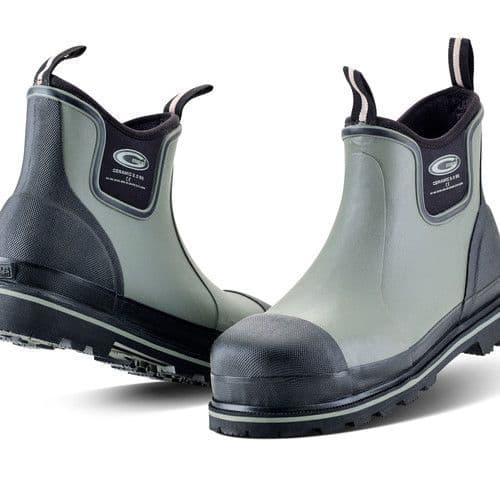 Grubs Ceramic Driver 5.0 Ankle Height Safety Wellington Boots